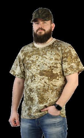 Купить камуфляжную футболку песок - Магазин тельняшек.ру 8-800-700-93-18