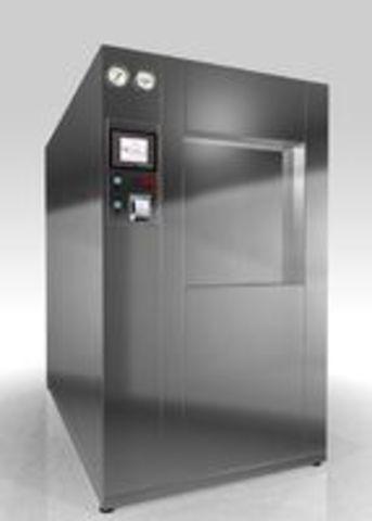 Стерилизатор паровой с автоматическим управлением PHS-800 проходной со встроенным парогенератором - фото