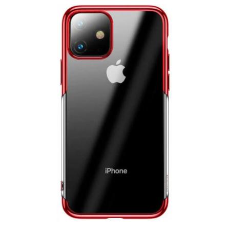 Чехол Baseus Shining Case For iPhone 11, Красный
