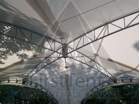 Арочный шатер дюна 6х6