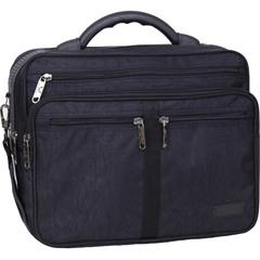 Мужская сумка Bagland Mr.Green 16 л. Чёрный (0025270)