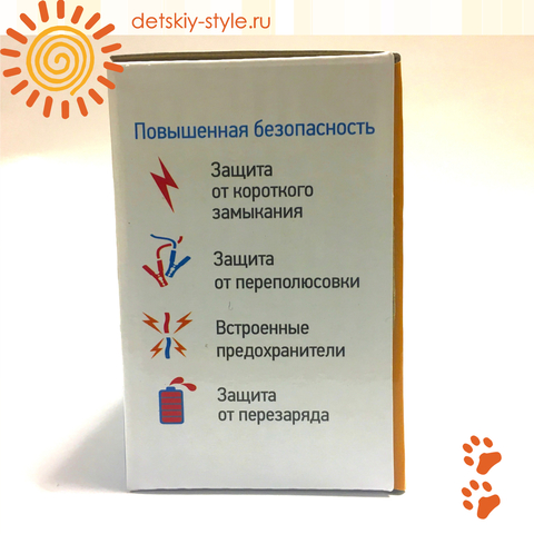 "Зарядное Устройство Для Электромобиля ""12V/1000mA"" (Автономное)"