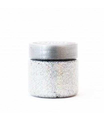 Блестки-краска Glitter Glaze серебрянные