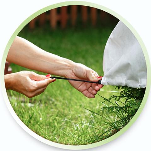 Зимнее Укрытие - Чехол для растений 60 х 70 см 3 шт