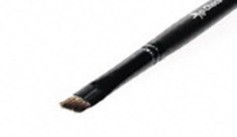 Кисть R071 для бровей, ресничного края, скос/ворс:L=7/4,5,D=8мм/иммит.мангуста, ТМ ChocoLatte