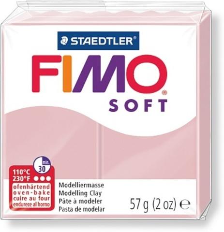 Fimo Soft нежно-розовый