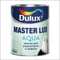 Эмаль для радиаторов и мебели Dulux MASTER Lux Aqua 40 BС (Прозрачный)