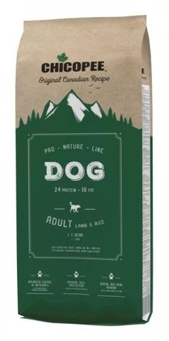 Chicopee Pro Nature Line Adult Lamb and Rice сухой корм для взрослых чувствительных собак всех пород с ягненком и рисом - 20 кг