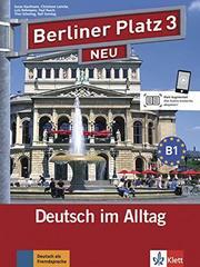 Berliner Platz 3 NEU Lehr-/ Arbb+ 2 CDs+Treffpu...