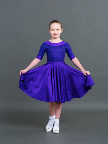 Рейтинговое платье боди, юбка 2 солнца