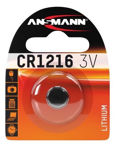 Батарейка CR 1216 ANSMANN 3V (Premium)