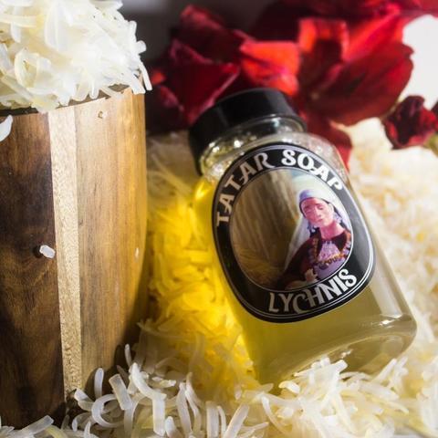 Татарский шампунь ручной работы  «Lychnis «Tatar beauty Leia»