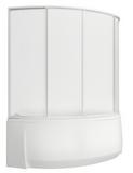 шторки для ванной Фэнтази, 3-х створчатая, Пластик
