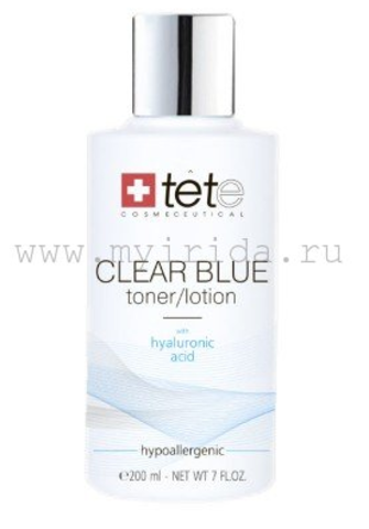 Тоник/лосьон с гиалуроновой кислотой /CLEAR BLUE Toner/Lotion/ 200 мл.