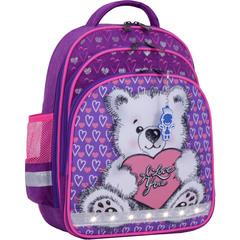 Рюкзак школьный Bagland Mouse 339 фиолетовый 377 (0051370)