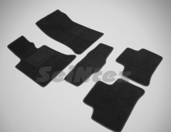 Ворсовые коврики LUX для MERCEDES GLK-class X204 08-