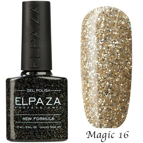 Гель лак Elpaza Magic,БЕЛОЕ ЗОЛОТО 16