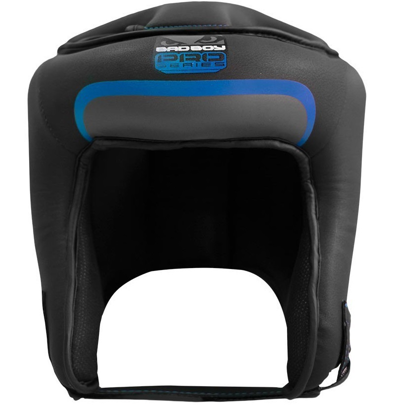 Шлемы Шлем Bad Boy Pro Series 3.0 Open Face Head Guard Blue 1.jpg