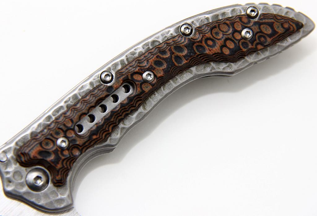 Нож CRKT Ikoma Fossil 5460 - фотография