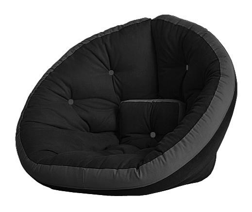 Универсальные кресла Кресло Farla Lounge Чёрное с серым bl_grey_grey.jpg