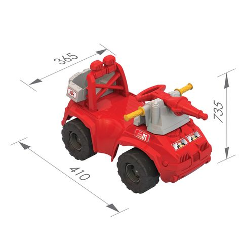 Толокар «Пожарная машина»