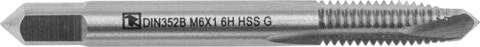 MTG305SP Метчик машинно-ручной T-DRIVE со спиральной подточкой для сквозных отверстий с направляющей в наборе М3х0.5, HSS-G