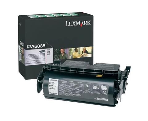 Картридж Lexmark 12A6835 черный