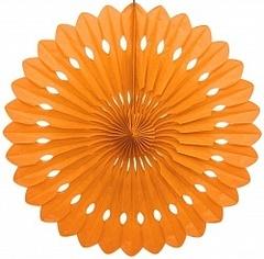 Бумажный диск Оранжевый (16''/41 см)