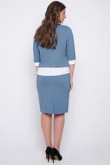 <p>Модный блузон в сочетании с классической юбкой на резинке. Отличный офисный вариант для истинной леди.&nbsp;</p>