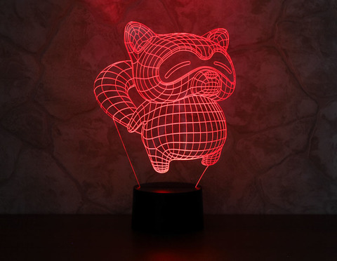 Art-Lamps Енот