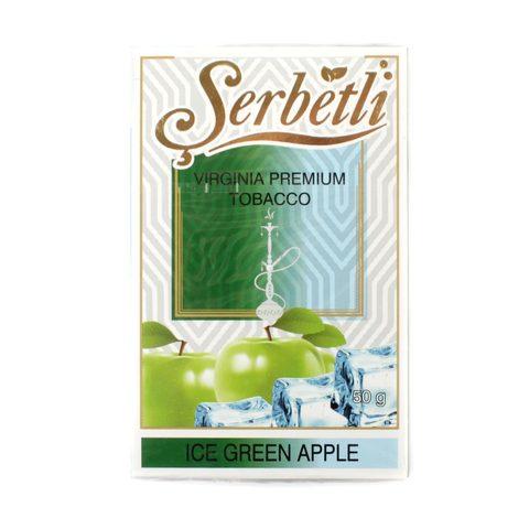 Табак для кальяна Serbetli Ice Green Apple 50 гр