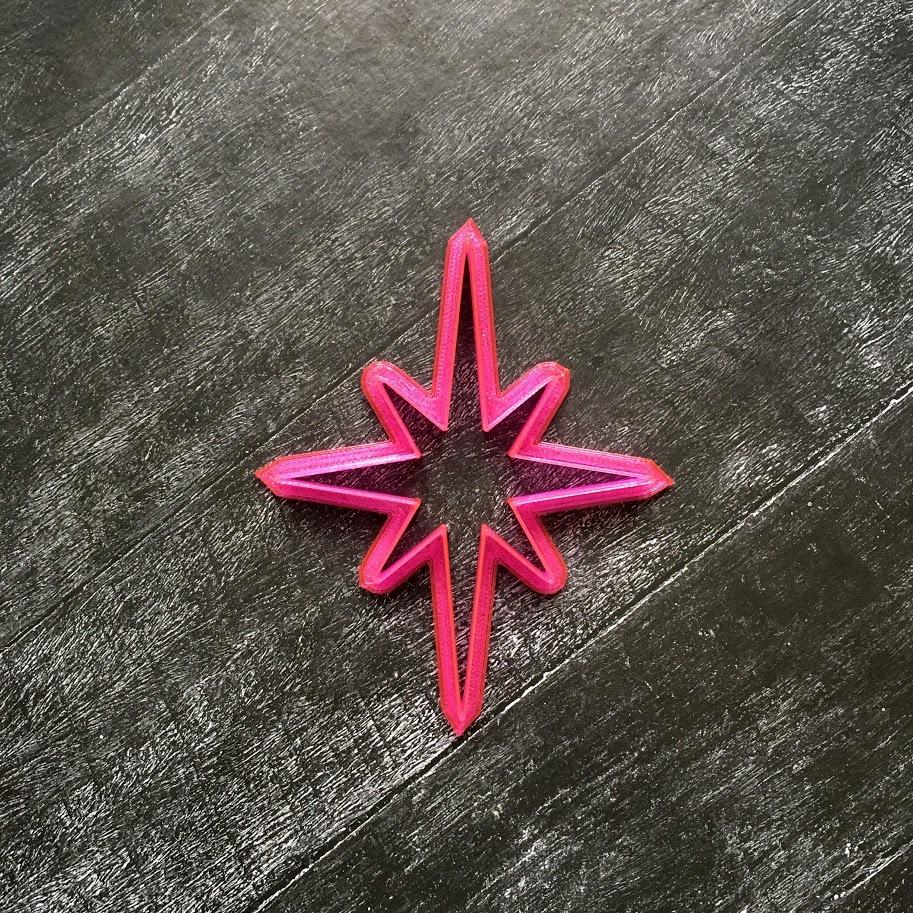 Звезда восьмиконечная №1