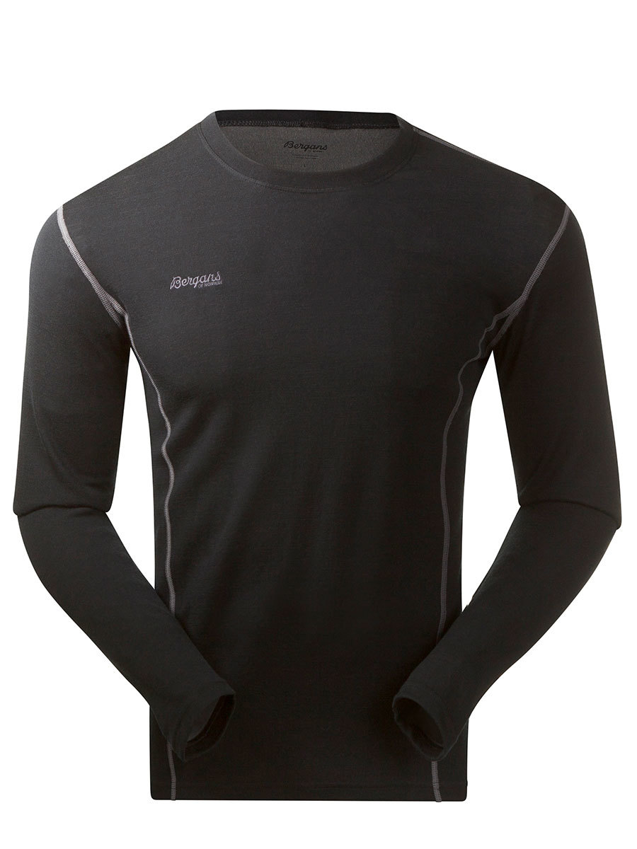 Bergans термобелье футболка 1864 Akeleie Shirt Black
