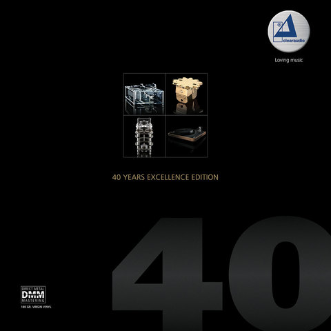 Inakustik LP, Clearaudio - 40 Years Excellence Edition, 01678051