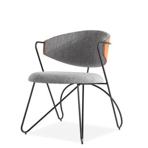 Стул-кресло Sophia by Light Room (серый/черные ножки)