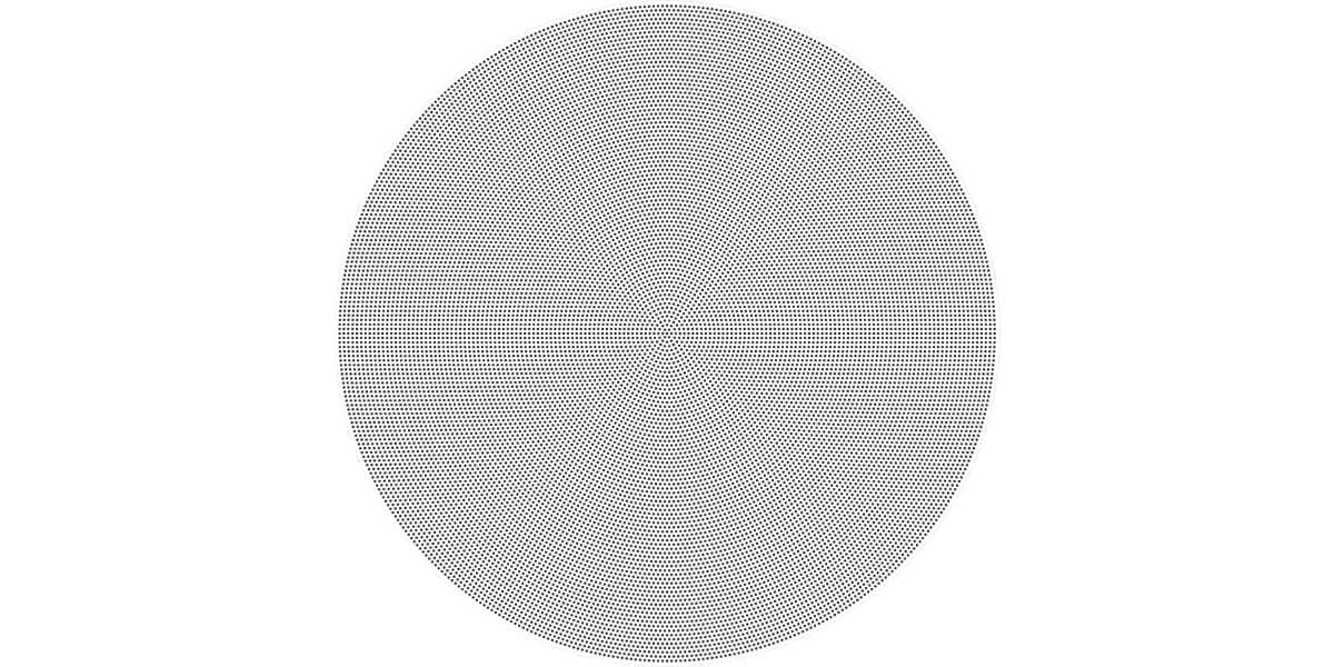 Встраиваемая акустика SONOS In-Ceiling by Sonance вид спереди