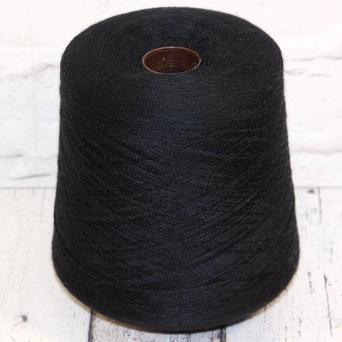 Меринос с кашемиром и шелком BOTTO GIUSEPPE / FUSION 2/52 черный