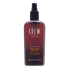 American Crew Classic Medium Hold Spray Gel - Спрей-гель для волос средней фиксации