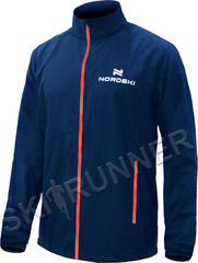 Беговая куртка Nordski Motion Navy-Red мужская