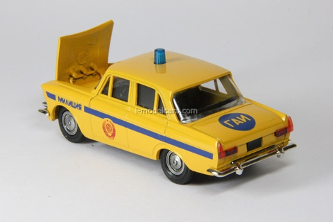 Moskvich-408 GAI USSR Police  Agat Mossar Tantal 1:43