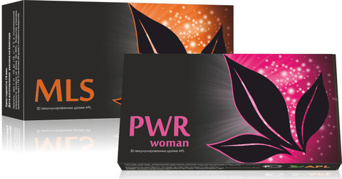 APL. Набор Аккумулированные драже APLGO MLS+PWR woman для избавления от паразитов, поддержания женского здоровья