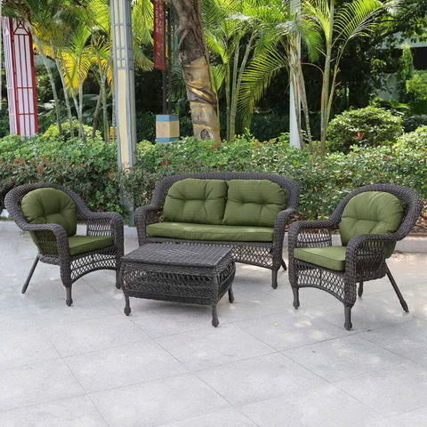 Комплект плетеной мебели LV520BG Beige/Green