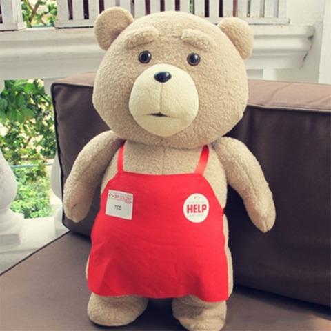 Тедд в одежде сотрудника