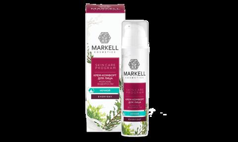 Markell Skin Care Program Крем-комфорт для лица Морские водоросли ночной 50мл