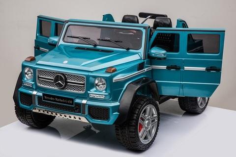 Электромобиль BARTY Mercedes-Maybach G650 Landaulet синий