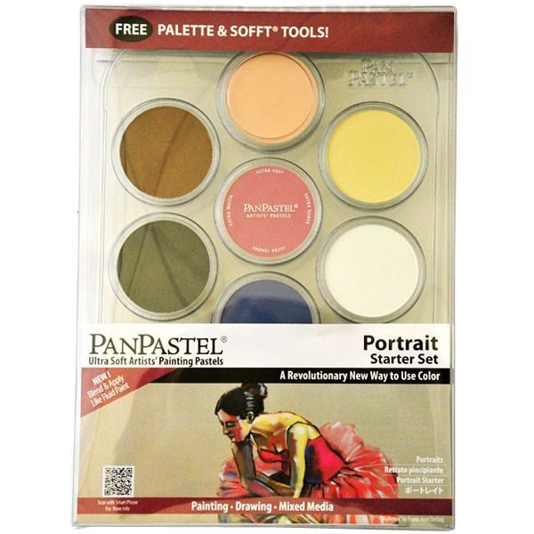 Набор ультрамягкой пастели PanPastel 7 цветов (portait starter set)