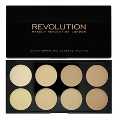 Палетка консилеров Makeup Revolution Cover and Conceal, Light