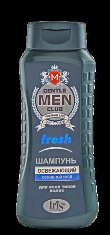 Iris Gentlemen club Шампунь Fresh освежающий 400мл