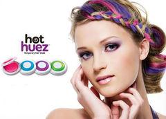Мелки для волос Hot Huez / Мгновенная краска для волос Hot Huez
