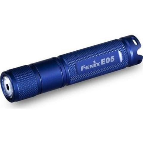 Фонарь Fenix Е05 85lm Синий
